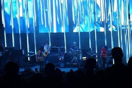 Radiohead at the Blossom Music Center in Cuyahoga Falls