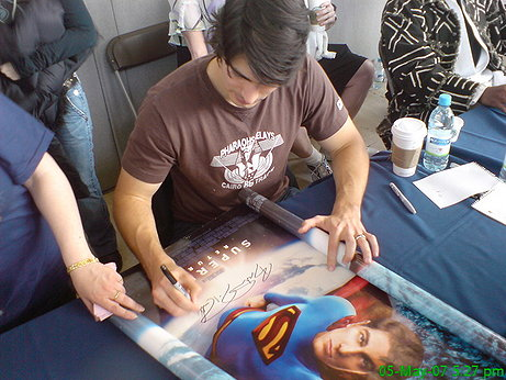 Brando Routh, really down to earth guy...