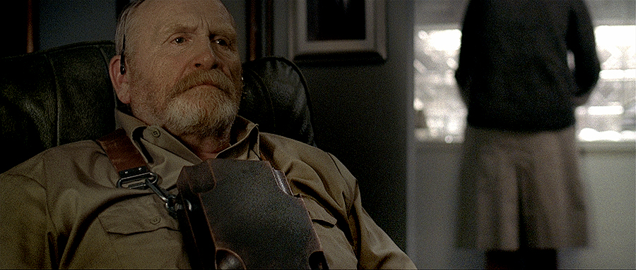 James Cosmo (Braveheart, Trainspotting) as George Bergeron in Kurt Vonnegut's 2081