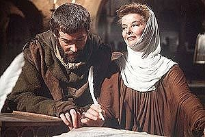 Peter O'Toole, Katharine Hepburn in The Lion In Winter