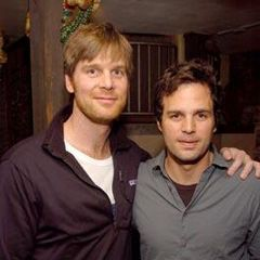 Peter Krause and Mark Ruffalo at Sundance in 2004