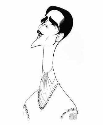 Caricature by Al Hirschfeld