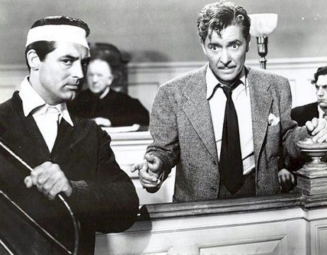 Cary Grant and Ronald Colman