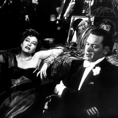 Gloria Swanson and William Holden