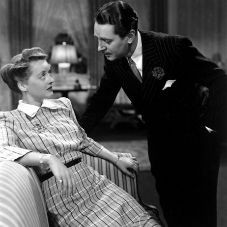 Bette Davis and Reginald Gardiner