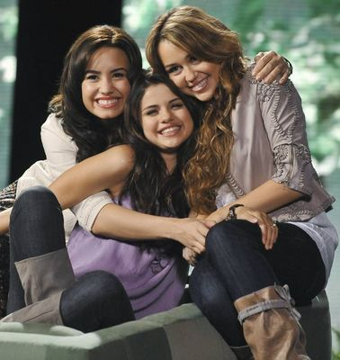 selena gomez and demi lovato and miley cyrus. Selena Gomez, Demi Lovato