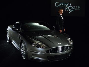 James Bond Aston Martin DB9