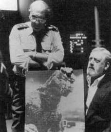 scene does this Raymond Burr still feature in The Return of GodzillaRaymond Burr Godzilla
