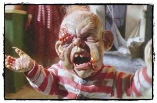 Scary babies in horror films