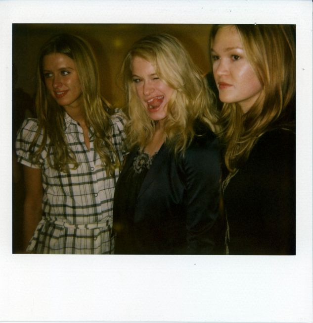 Mercedes-Benz Fashion Week Fall 2008 - alice + olivia - Polaroids