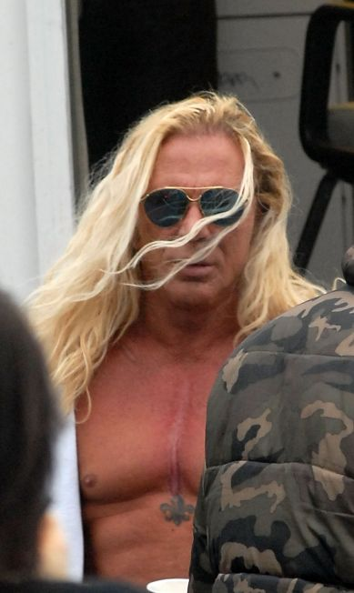 "Mickey Rourke on Location for ""The Wrestler"" in Clark, NJ - March 7, 2008"