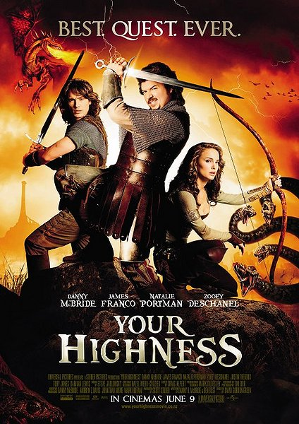 "Review: ""Your Highness"" (2011)"