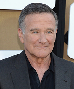 Roger Williams (actor) Robin Williams won five